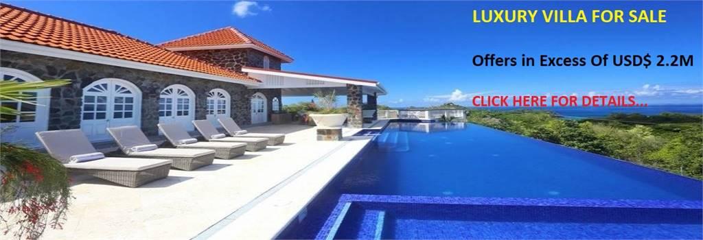 Villa Atlantis - Luxury Villa For Sale Saint Lucia