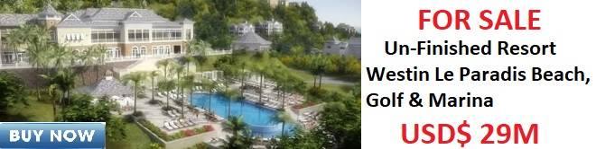 Westin Le Paradis Beach, Golf & Marina For Slae
