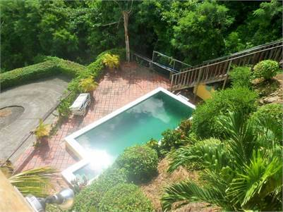 Villa at Trouya Rodney Bay for Sale Overlooking Nearby Beach