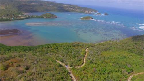 2 Acres of Beach Front Land For Sale in Saint Lucia