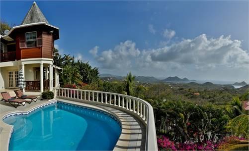 Residence du Cap Villa for Sale St Lucia