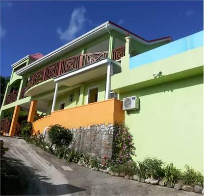 Tropical Paradise View Guesthouse Anse-La-Raye