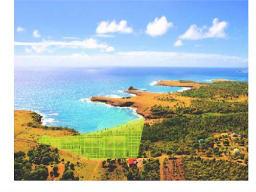 7 Acres Beach Front Land for Sale on South East Coast of St Lucia