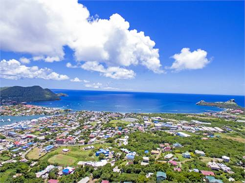 Rodney Bay Saint Lucia Land for Sale with amazing Marina Views