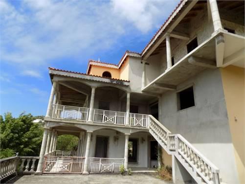 7 Bed Un-Finished House at Golf Park Cap-Estate Saint Lucia
