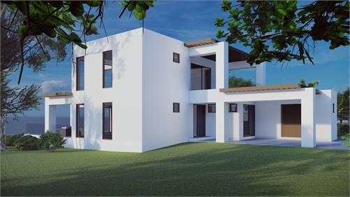 Modern beach townhouse Formentera
