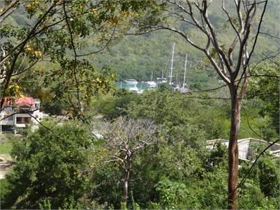 Land for Sale in Marigot overlooking the Marigot Bay harbour