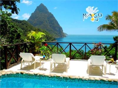 14 Luxury Room Boutique Resort for Sale in Soufriere St Lucia