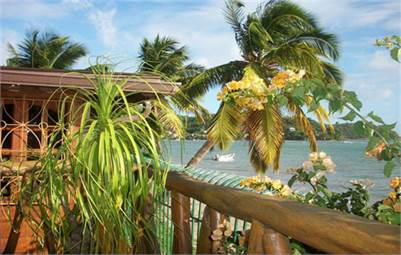 Beach Front Property For Sale In Laborie St Lucia