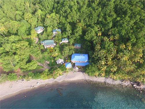 Exclusive Beach Front Property For Sale in Soufriere Saint Lucia