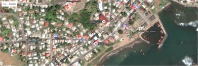 Land for Sale in Dennery St. Lucia with Concrete Structure