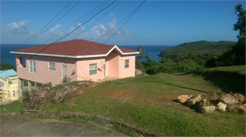 House for Sale in Ciceron Castries with amazing sea views