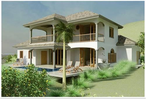 Emerald Vista St.Lucia: Property Concept A