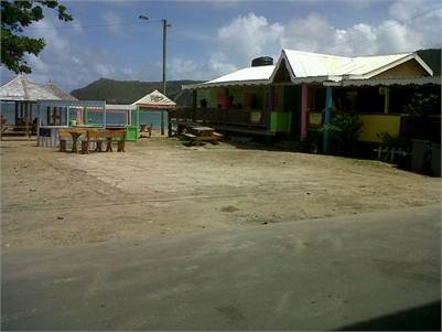 Beach Bar & restaurant for Sale in Dennery St Lucia, Turnkey Condition, Beautiful Decor