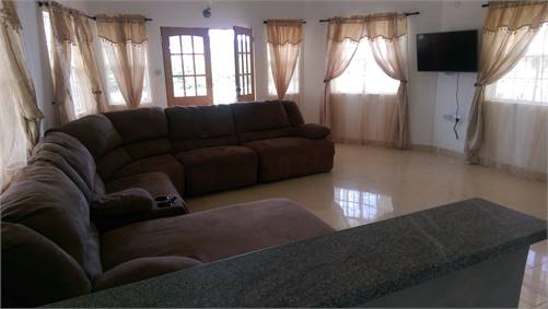 4 Bedroom Furnished House For Rent at Cedar Heights Vieux Fort